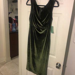 Rock Steady Velvet Wiggle Dress